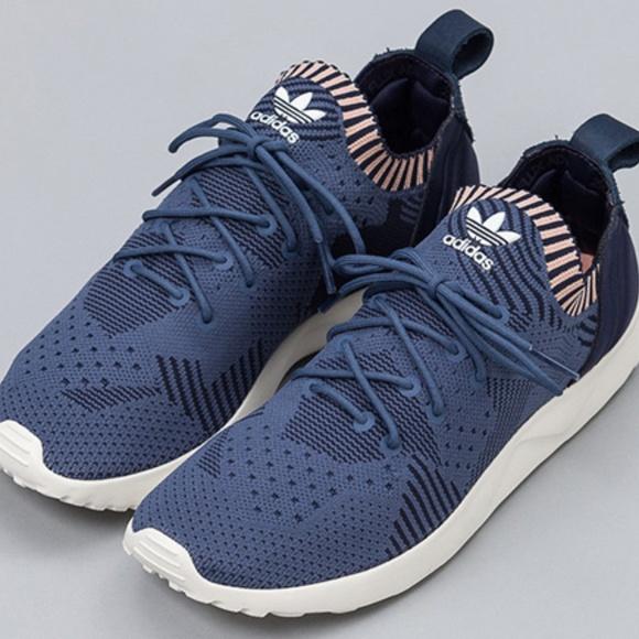 0c816eefb18e1 adidas Shoes - ADIDAS ZX FLUX ADV VIRTUE PRIMEKNIT IN NAVY